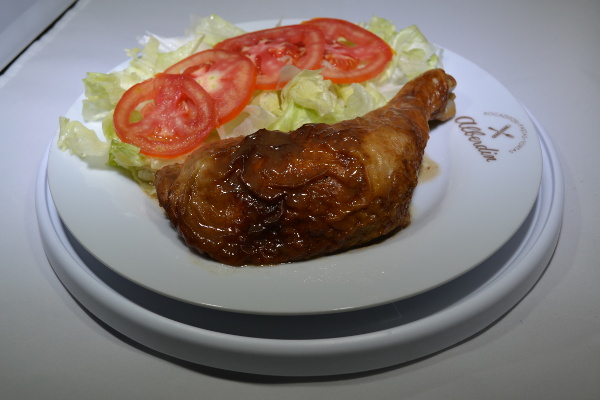 Estofado de pollo