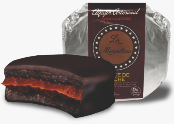 Alfajor mini chocolatoso dulce de leche 30g