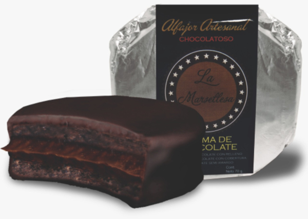 Alfajor mini chocolatoso crema de chocolate 30g